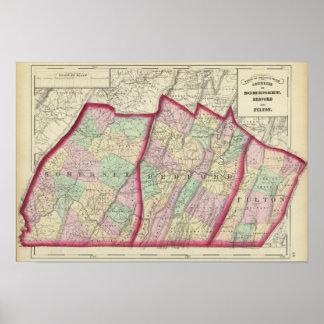 Somerset, Bedford, condados de Fulton Póster
