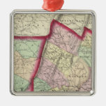 Somerset, Bedford, Fulton counties Metal Ornament