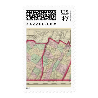 Somerset, Bedford, Fulton counties Stamp