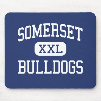 Somerset - Bulldogs - High School - Somerset Texas Mouse Pad