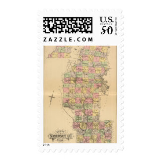 Somerset Co, Maine Postage