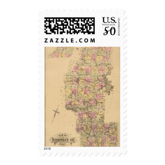 Somerset County, Maine Postage