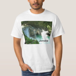 Somerset Falls Jamaica Photo T-Shirt Shirt