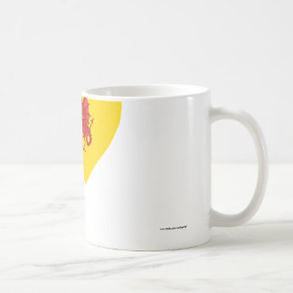 Somerset Flag Heart Coffee Mug