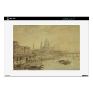 Somerset House, St. Paul's Cathedral and Blackfria Laptop Skin