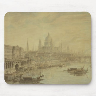 Somerset House, St. Paul's Cathedral and Blackfria Mouse Pad