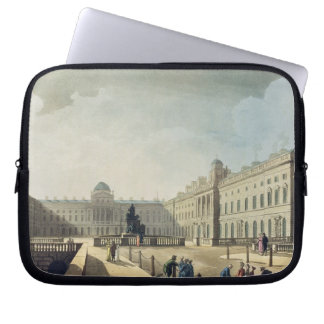 Somerset House, Strand, from 'Ackermann's Microcos Computer Sleeve