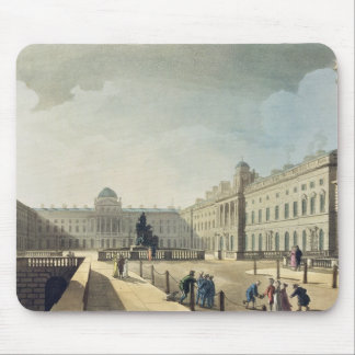 Somerset House, Strand, from 'Ackermann's Microcos Mouse Pad