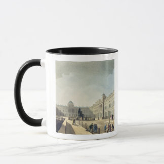Somerset House, Strand, from 'Ackermann's Microcos Mug