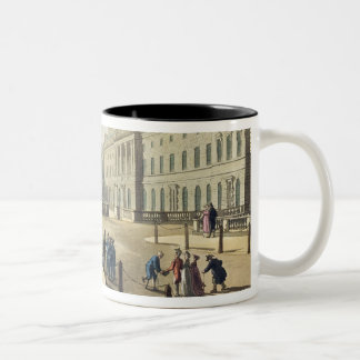 Somerset House, Strand, from 'Ackermann's Microcos Two-Tone Coffee Mug