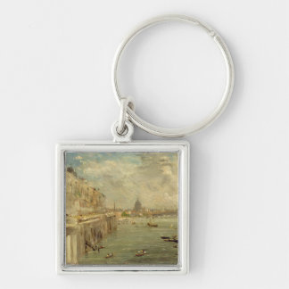 Somerset House Terrace from Waterloo Bridge, c.181 Keychain