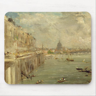 Somerset House Terrace from Waterloo Bridge, c.181 Mouse Pad