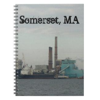 Somerset, MA Spiral Notebook