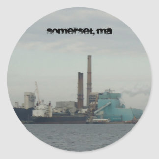 Somerset MA Sticker