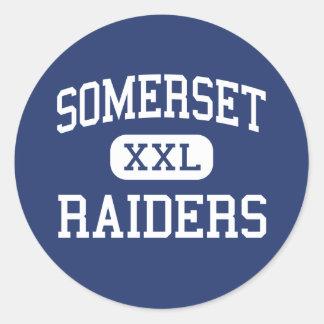 Somerset - Raiders - Junior - Somerset Classic Round Sticker