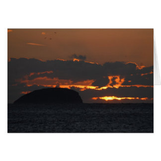 Somerset Sun Set Greeting card