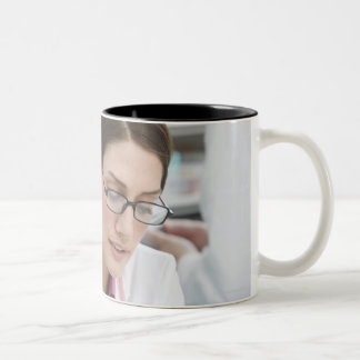 Somerset, UK 2 Two-Tone Coffee Mug