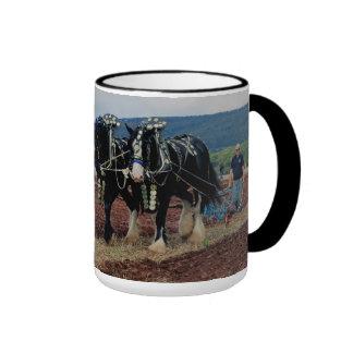 Somerset Uk Horse Ploughing Championships 2011 Ringer Mug