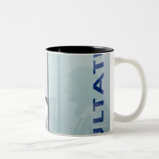 Somerset, UK Two-Tone Coffee Mug