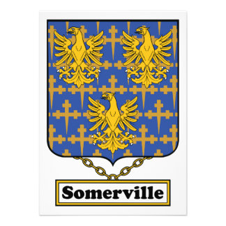 Somervile Family Crest Announcement