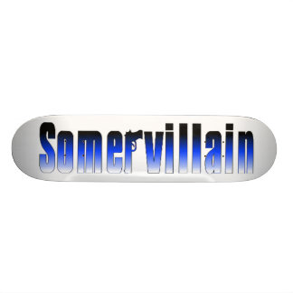 Somervillain Blue Skateboard