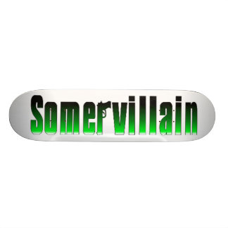 Somervillain Green Skateboard