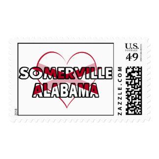 Somerville, Alabama Postage