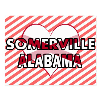 Somerville, Alabama Postcard