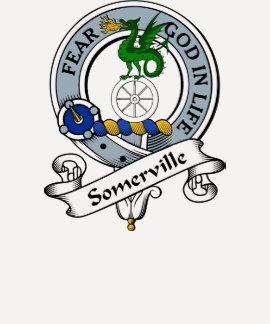 Somerville Clan Badge T Shirts