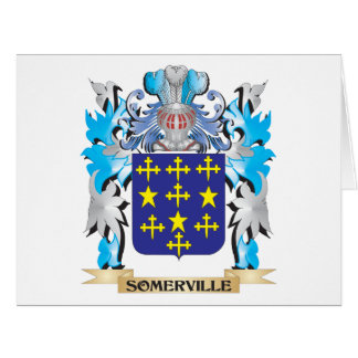 Somerville Coat of Arms - Family Crest Cards