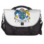 Somerville Family Crest Laptop Messenger Bag