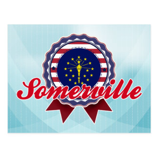 Somerville, IN Postcard