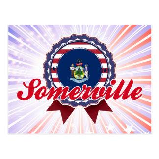 Somerville, ME Postcard