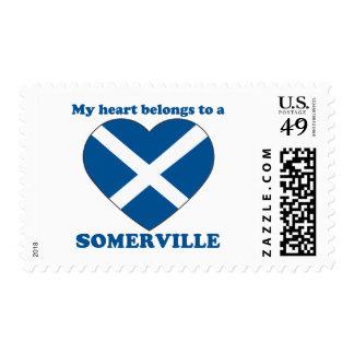 Somerville Postage Stamp