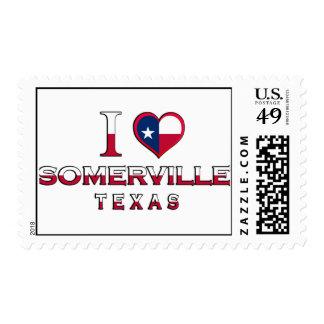 Somerville, Texas Postage Stamp