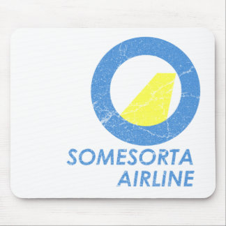 Somesorta Airline Mouse Pad