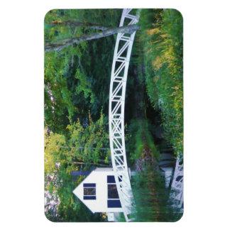 Somesville Footbridge Magnet