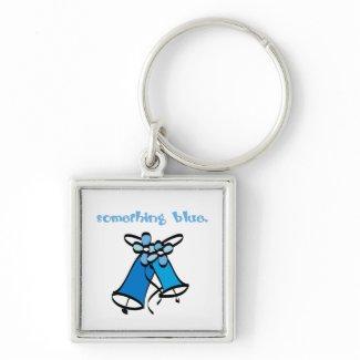 Something Blue Bridal keychain