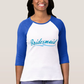 Something Blue Bridesmaid T-Shirt