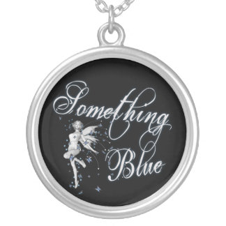 Something Blue Butterfly Fairy - Original Necklace