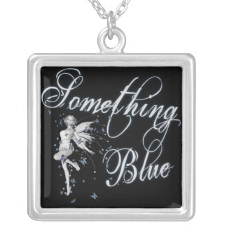 Something Blue Butterfly Fairy - Original Custom Jewelry