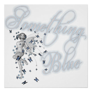 Something Blue Butterfly Fairy - Original Poster