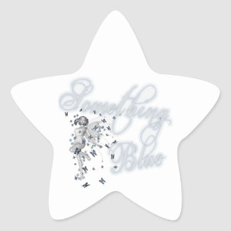 Something Blue Butterfly Fairy - Original Star Sticker