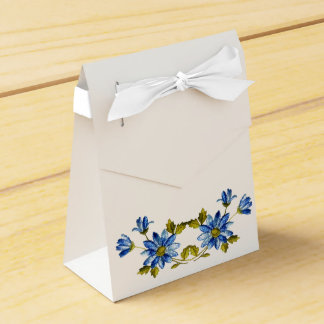 Something Blue Gift Bags Favor Box