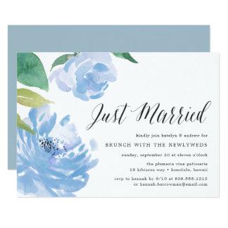 Something Blue | Post Wedding Brunch Invitation