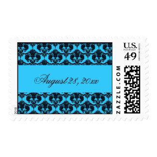 Something Blue Postage Stamp