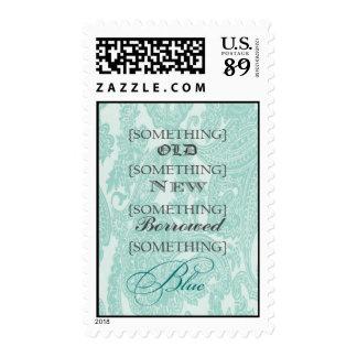 Something blue stamp