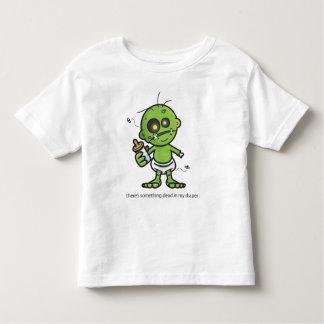 Something Dead in my Diaper Toddler T-Shirt