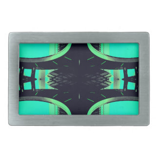 Something Different - Modern Urban Futurism Rectangular Belt Buckles