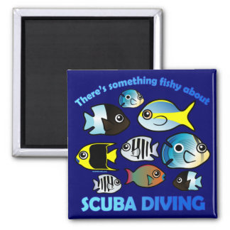 Something Fishy About Scuba Magnet